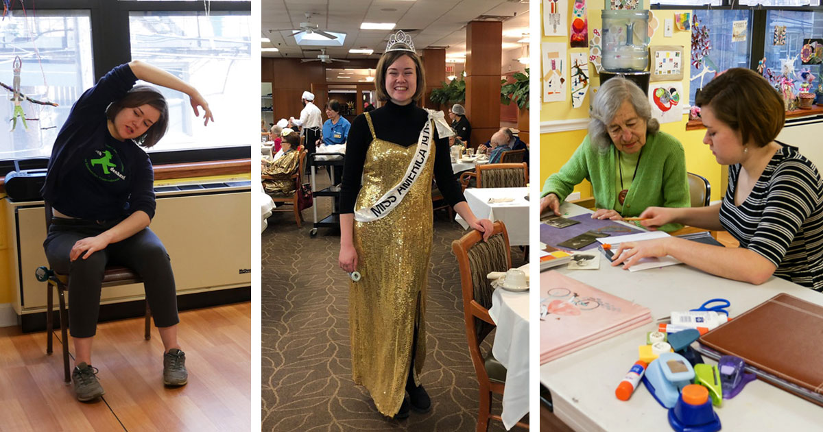 Ella, Our Intern, Wraps Up Her Year at Selfhelp - The Selfhelp Home