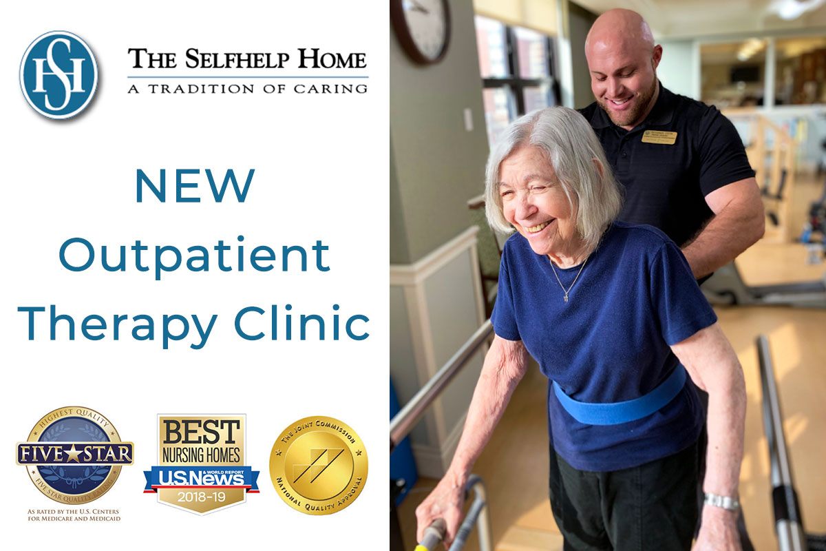 Selfhelp's New Outpatient Therapy Clinic Welcomes Outside Patients and Residents - The Selfhelp Home